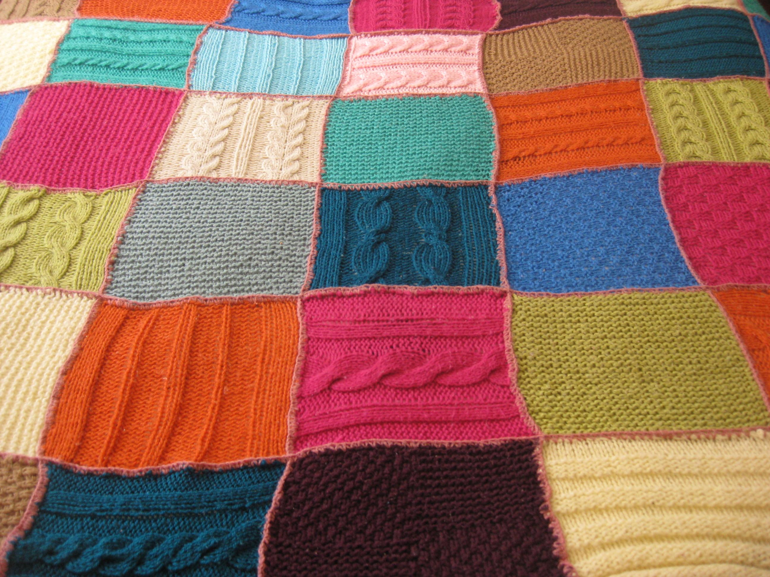Mantas de ganchillo comoigual - Mantas ganchillo colores ...